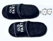 farting slippers