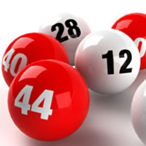 Lottery players have numbers on their balls