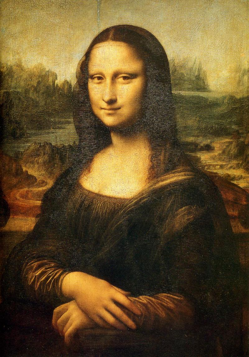 Arguably The Most Famous Painting In World Identity Of Subject Is A Topic Under Much Debate Some Have Said That It Was Painted Likeness